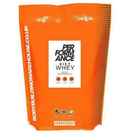 Performance Diet Whey Protein Powder 500g/1kg/2kg; Bodybuilding Warehouse